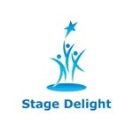 """まったく新しいプレゼン(自己表現)メソッド """"Stage Delight"""" のロゴへの提案"""