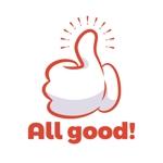 micky-a-55さんの買取専門店「ALL GOOD!」のロゴへの提案