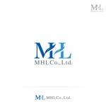 RIKU5555さんの「MHL株式会社」のロゴへの提案