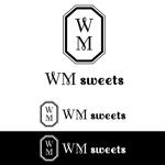 zero6_6さんのSweets shop「WM sweets」のロゴデザインへの提案