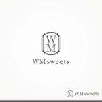 pumpdesignさんのSweets shop「WM sweets」のロゴデザインへの提案