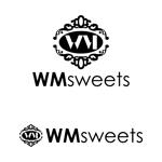 stackさんのSweets shop「WM sweets」のロゴデザインへの提案