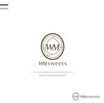 seikopicardさんのSweets shop「WM sweets」のロゴデザインへの提案