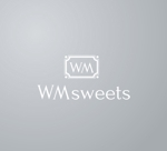 kiwi_designさんのSweets shop「WM sweets」のロゴデザインへの提案