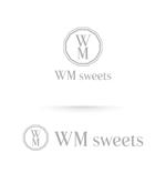 heartさんのSweets shop「WM sweets」のロゴデザインへの提案