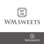 kojideins2さんのSweets shop「WM sweets」のロゴデザインへの提案