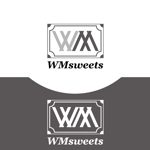coolfighterさんのSweets shop「WM sweets」のロゴデザインへの提案