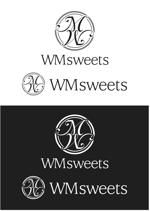 YoshiakiWatanabeさんのSweets shop「WM sweets」のロゴデザインへの提案