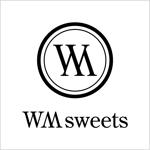 K_KOKUNEさんのSweets shop「WM sweets」のロゴデザインへの提案