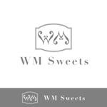 trk413さんのSweets shop「WM sweets」のロゴデザインへの提案