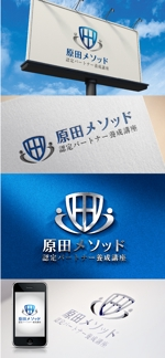 katsu31さんの原田メソッド認定パートナー養成講座のロゴ制作依頼への提案