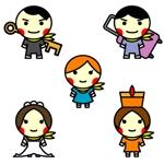 ancomoさんのリゾートホテル 年末年始子供向けイベント キャラクター制作への提案