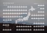 Penguin_Designさんの百名山バッチボードのデザイン募集(A2ポスターサイズ・布地印刷用データ)への提案