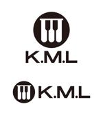 tsujimoさんの架空のレコード会社「K.M.L」のロゴへの提案