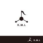 bunkainsatuさんの架空のレコード会社「K.M.L」のロゴへの提案