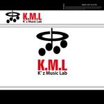 chopin1810lisztさんの架空のレコード会社「K.M.L」のロゴへの提案
