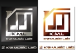 kaorukunさんの架空のレコード会社「K.M.L」のロゴへの提案