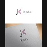 Atonさんの架空のレコード会社「K.M.L」のロゴへの提案