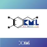 kez_ranaiさんの架空のレコード会社「K.M.L」のロゴへの提案