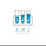 KK_DESIGNさんの架空のレコード会社「K.M.L」のロゴへの提案