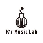 ronsunnさんの架空のレコード会社「K.M.L」のロゴへの提案