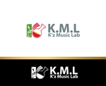 zen634さんの架空のレコード会社「K.M.L」のロゴへの提案
