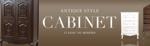 design_saitoさんのアンティーク風家具販売サイト「クラシックデモダン」のバナーへの提案