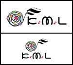 sametさんの架空のレコード会社「K.M.L」のロゴへの提案