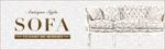 socioblueさんのアンティーク風家具販売サイト「クラシックデモダン」のバナーへの提案
