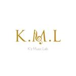 noir_5さんの架空のレコード会社「K.M.L」のロゴへの提案