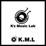 katachidesignさんの架空のレコード会社「K.M.L」のロゴへの提案