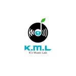 ol_zさんの架空のレコード会社「K.M.L」のロゴへの提案