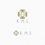 minami-mi-natzさんの架空のレコード会社「K.M.L」のロゴへの提案
