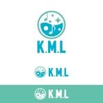 vz-tさんの架空のレコード会社「K.M.L」のロゴへの提案