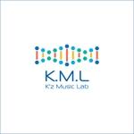 queuecatさんの架空のレコード会社「K.M.L」のロゴへの提案