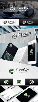 take5-designさんのBMW中心の中古車販売店 FiveEs Autocarsの企業ロゴ (商標登録予定なし)への提案