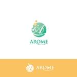 aihyaraさんのアロマテラピーと整体のリラクゼーション事業「アローム」のロゴ への提案