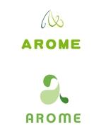 haruka322さんのアロマテラピーと整体のリラクゼーション事業「アローム」のロゴ への提案