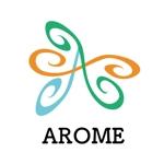 ma8umiさんのアロマテラピーと整体のリラクゼーション事業「アローム」のロゴ への提案