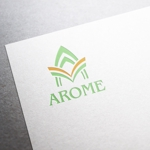 maruo_maruiさんのアロマテラピーと整体のリラクゼーション事業「アローム」のロゴ への提案