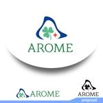 ark-mediaさんのアロマテラピーと整体のリラクゼーション事業「アローム」のロゴ への提案
