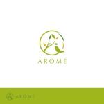 smoke-smokeさんのアロマテラピーと整体のリラクゼーション事業「アローム」のロゴ への提案