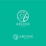 mac-kerさんのアロマテラピーと整体のリラクゼーション事業「アローム」のロゴ への提案