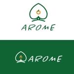 cozzyさんのアロマテラピーと整体のリラクゼーション事業「アローム」のロゴ への提案