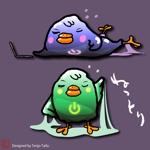 st-sさんのネットリテラシーを表現する鳥のキャラクターデザインへの提案