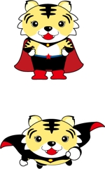 Barunさんのトラのキャラクターデザインへの提案