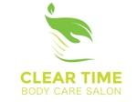 ボディケアサロン「CLEAR TIME」のロゴへの提案
