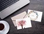 harmonia51さんのポストカードのデザイン(四季4種+他2種)への提案
