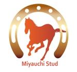 """AkihikoMiyamotoさんの競走馬生産・育成牧場 """"宮内牧場""""のロゴへの提案"""