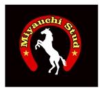 "MacMagicianさんの競走馬生産・育成牧場 ""宮内牧場""のロゴへの提案"